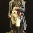 L'Imperatore Napoleone Bonaparte, figurino Masterclass 75mm dipinto a olio