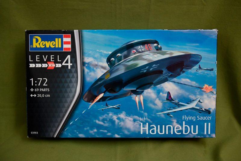 Unboxing Haunebu II – Kit Revell 1/72 n°03903