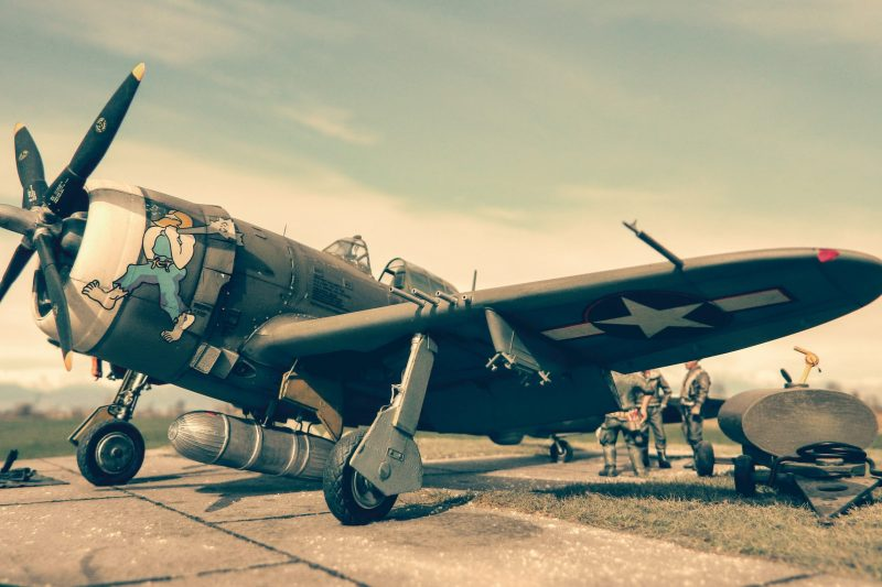 P-47 D Thunderbolt Razorback