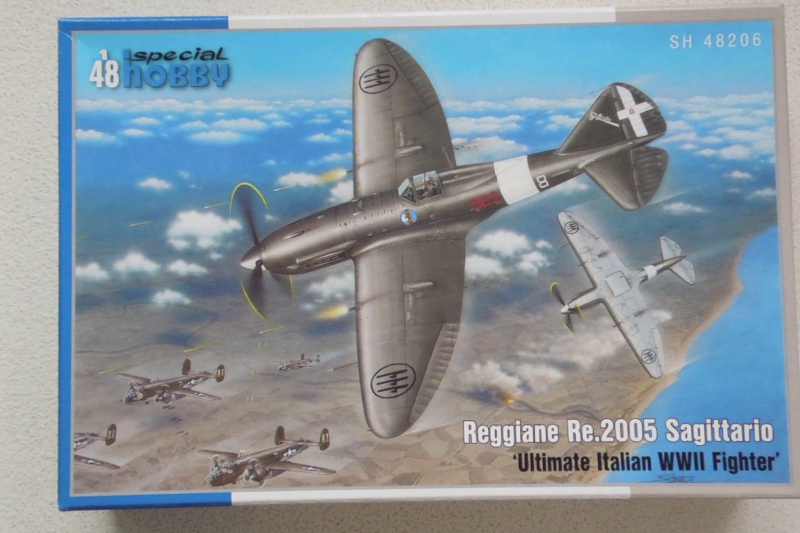 Unboxing Special Hobby RE.2005 1/48