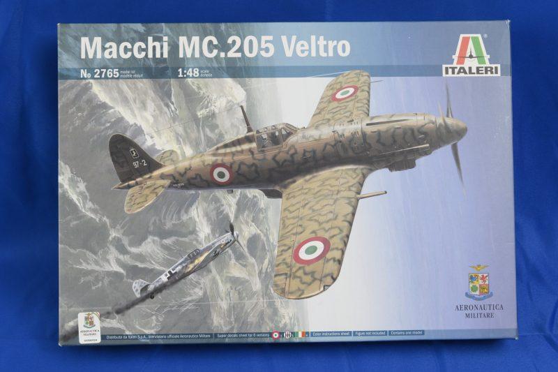Unboxing Macchi C.205 – Kit Italeri 1/48 n°2765