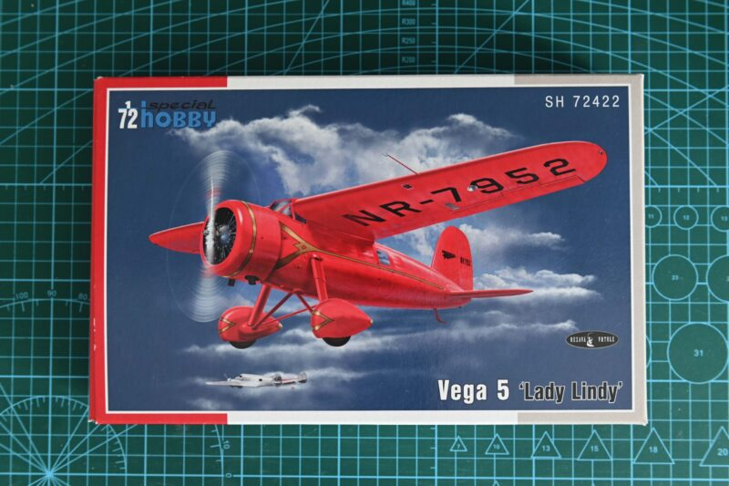 "Unboxing Vega 5 ""Lady Lindy"" – Kit Special Hobby 1/72 n° SH72422"