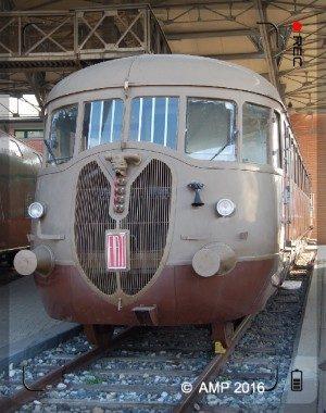 Littorina ALd 776 – Museo Ferroviario Piemontese di Savigliano